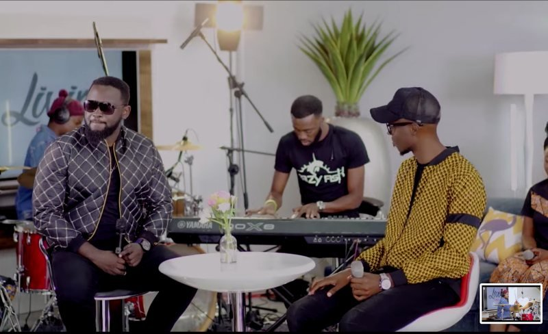Pompi and Mag44 Wishing live performance